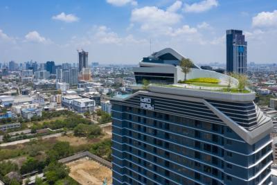 For SaleCondoOnnut, Udomsuk : Condo for sale, Ideo mobi sukhumvit66, next to BTS Udom Suk, 1 bedroom, large size, urgent, special price of only 4.69 million baht.