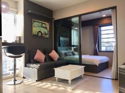 For RentCondoRama9, Petchburi, RCA : Condo for rent Rhythm Asoke 29th Floor Size 30 Sq.m.1 bedroom 1 bathroom 1 living room Fully furnished