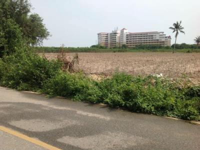 For SaleLandRayong : 37 Rai of Land for Sale near Ban Phla Beach, Ban Chang, Rayong