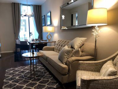 เช่าคอนโดสุขุมวิท อโศก ทองหล่อ : 1 Bedroom The Diplomat 39 fully furnished for rent