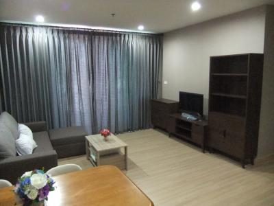 For RentCondoPattaya, Bangsaen, Chonburi : Condo for rent at Sriracha, Condo View, 1 bed, nice decoration, near Robin Sriracha