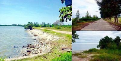 ขายที่ดินระยอง : ขายที่ดินติดทะเลหาดส่วนตัว 32 ไร่ หน้าหาดทรายกว้าง 200 เมตร  อำเภอแกลง ระยอง