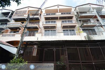 For SaleTownhouseLadprao101, The Mall Bang Kapi : 0001-A(CB)😍 For SELL ขายทาวน์เฮ้าส์ 5 ห้องนอน🚄ใกล้ The Mall บางกะปิ เพียง 6 นาที🏢ทาวน์เฮ้าส์  Townhouse 🔔พื้นที่บ้าน:23.00ตร.วา🔔พื้นที่ใช้สอย:120.00ตร.ม.💲ขาย:3,900,000.-บาท📞:099-5919653✅LineID:@sureresidence