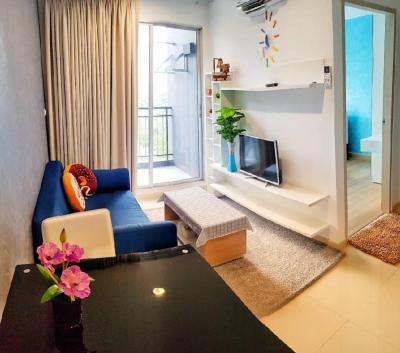 For RentCondoChonburi, Pattaya, Bangsa : Sale / For rent Natureza Art Condo ( North Pattaya - Naklua ) Nice atmosphere, pool view