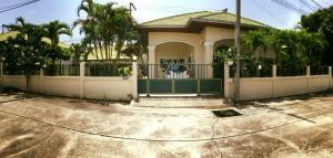 ขายบ้านพัทยา ชลบุรี : ขายบ้านเดียว97ตร.ว หมู่บ้านพรเทพการ์เด้นวิลล์ พื้นที่ใช้สอย 200ตารางเมตร 🔶บ้านเดี่ยวชั้นเดียว  🔶3 ห้องนอน-2ห้องน้ำ  🔶ขายราคา 4,390,000บาท