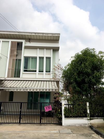 For SaleTownhouseNawamin, Ramindra : Townhouse 2 Floor 33 Trw. Corner room, Prino University, Ramintra Ring Road