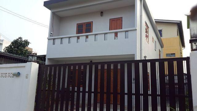 For RentHouseNawamin, Ramindra : 2 storey detached house to rent in Soi Phraya Suren 25, Khlong Sam Wa. Near Panya Indra Golf Club