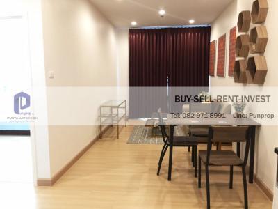 For RentCondoSathorn, Narathiwat : Condo for rent, Supalai Lite, Ratchada-Narathiwat-Sathorn, 1 bedroom 50 sqm., High floor, fully furnished 20,000 baht / month