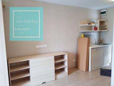 เช่าคอนโดอ่อนนุช อุดมสุข : ให้เช่า Elio Del Ray ห้องมุม วิวสระ เพียง 8500บาท/เดือน