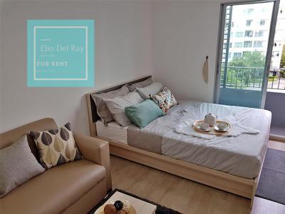 เช่าคอนโดอ่อนนุช อุดมสุข : ให้เช่า Elio Del Ray ห้องแต่งสวย น่ารักมากๆ