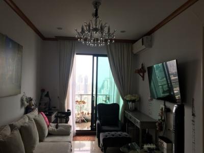 เช่าคอนโดพระราม 9 เพชรบุรีตัดใหม่ : RC026 Penthouse for rent or sale. 63 sqm. Supalai. Premier Asoke near to Phetchaburi mrt