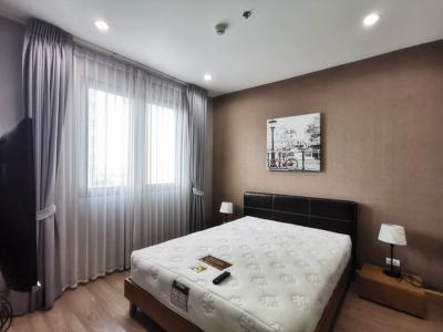 For RentCondoChengwatana, Muangthong : [With photo] new room for rent, nice decoration, cheap, Estro ASTRO Chaengwattana, 36 sq.m., 14th floor, near Central Chaeng Software Park, fully furnished, ready to move in