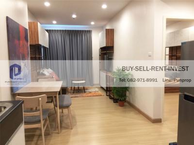 For RentCondoSathorn, Narathiwat : For rent, Supalai Lite, Ratchada-Narathiwat-Sathorn, 50 sqm. City view, fully furnished, 20, 000 baht / month, washing machine