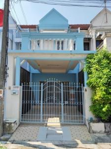 For RentTownhouseNawamin, Ramindra : Townhouse for rent, Sinthanee Village, Soi Nawamin 101, size 19 sq.wa, 2 floors, 2 bedrooms, 2 bathrooms, good condition, ready to move in.