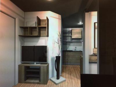 For RentCondoBang kae, Phetkasem : Studio room for rent Design decorated with beautiful furnishings. Fully usable space, very livable.