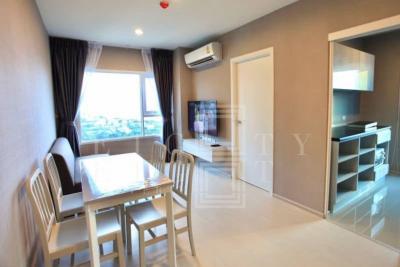 เช่าคอนโดสำโรง สมุทรปราการ : For Rent Aspire Erawan ( 47 square metres )