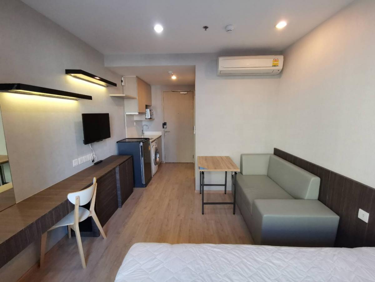 For RentCondoSiam Paragon ,Chulalongkorn,Samyan : Quick rent Studio Room Condo Ideo Q Chula Sam Yan, beautiful decoration, fully furnished, rent only 16,500 baht