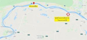 For SaleLandBueng Kan : Land for sale in Bueng Kan, Mekong River view, with a high potential of 11-2-29.6 rai, cheap, near tourist attractions, not far from the 5th Thai–Lao Friendship Bridge, the future is definitely not buyable.
