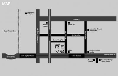 For SaleCondoSathorn, Narathiwat : URGENT Need to Sale  Noble Revo Silom  33.79 Sqm. 14th Floor. New room, City View