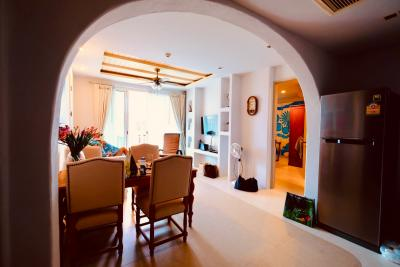 For SaleCondoCha am, Hua Hin : [Owner] beachfront condominium 2 bedroom for sale Fully Furnished