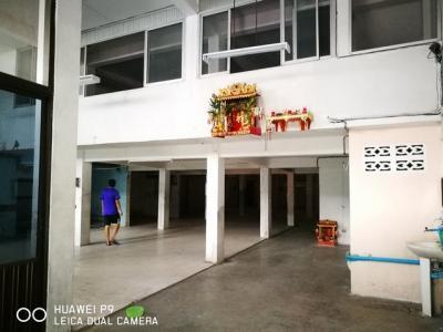 For RentShophouseWongwianyai, Charoennakor : RP077 Commercial building for rent 3 units near BTS Krung Thon Buri
