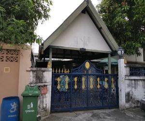 For SaleHouseOnnut, Udomsuk : 2 storey detached house for sale, good location, Soi Thai, Building 3
