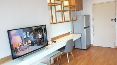 เช่าคอนโดสะพานควาย จตุจักร : ปล่อยเช่าห้องใหม่แกะกล่อง 1 Bed 29 ตรม. ชั้น 14 วิว New CBD ทิศเหนือ เห็นสวนจตุจักร ไม่ร้อนทั้งเช้าและบ่าย