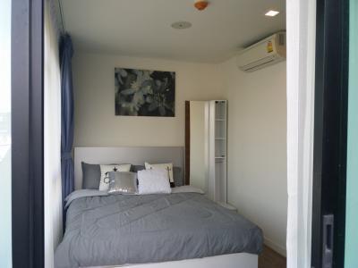 เช่าคอนโดนวมินทร์ รามอินทรา : คอนโดมือหนึ่ง แต่งสวย เฟอร์ครบ 1 ห้องนอน 1 ห้องน้ำ 1 ห้องนั่งเล่น 34.43 ตร.ม. ชั้น 4 หัวมุม เดินทางสะดวก