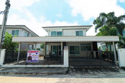 For SaleHouseRathburana, Suksawat : House for sale in Thung Khru, Pruek Lada Village, Prachauthit 90