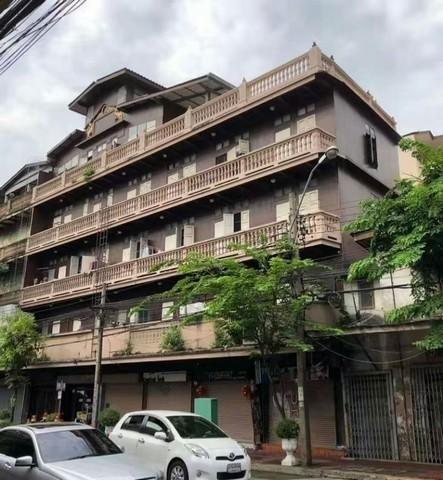 เช่าตึกแถว อาคารพาณิชย์เยาวราช บางลำพู : ให้เช่าอาคารพาณิชย์ 6ชั้น 6คูหาใกล้เยาวราช เหมาะทำธุรกิจใกล้MRT วัดมังกรและหัวลำโพง