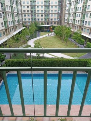 For RentCondoRattanathibet, Sanambinna : สระ Pool view room, north, sunny, shady, near Rattanathibet road 🏡