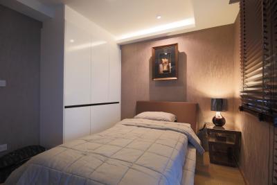 เช่าคอนโดสุขุมวิท อโศก ทองหล่อ : คอนโดใกล้ BTS พร้อมพงษ์ 2 ห้องนอน ห้องมุม แต่งสวย ให้เช่า