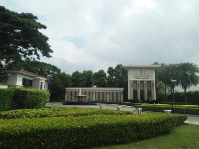 For SaleLandChaengwatana, Muangthong : Land for sale, size 11 rai, 27.1 square wah, next to Nanthawan University, Chaengwattana-Ratchapruek.