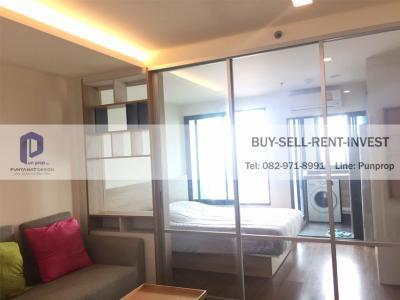 ขายคอนโดพระราม 3 สาธุประดิษฐ์ : ขายถูกพร้อมผู้เช่า! U Delight Residence Riverfront Rama 3 ห้องหน้าน้ำ riverfront 1 ห้องนอน 4.6 ล.
