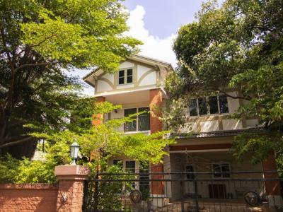 For SaleHouseRama5, Ratchapruek, Bangkruai : Laddarom Ratchapruek Village, Single-family house for sale 165.7 sq.w.