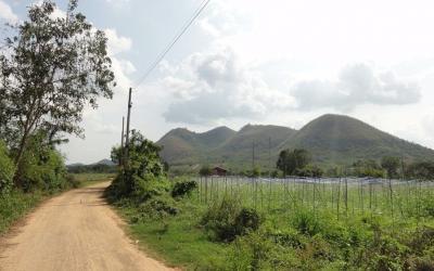 For RentLandHua Hin, Prachuap Khiri Khan, Pran Buri : Land rental Near Hua Hin - Huai Mongkol Road (TorLor. 3218) Hin Lek Fai, Hua Hin