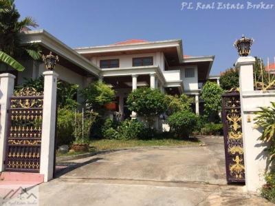 ขายบ้านพัฒนาการ ศรีนครินทร์ : ขายบ้านเดี่ยว 2 ชั้น อ่อนนุช 44 เนื้อที่ 1 ไร่ หมู่บ้านวรบูลย์ ใกล้พาราไดซ์พาร์ค