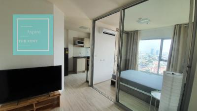 For RentCondoRattanathibet, Sanambinna : For rent, Aspire Rattanathibet 2, only 7,500 baht / month (there are many rooms Can walk to choose to watch straight away)