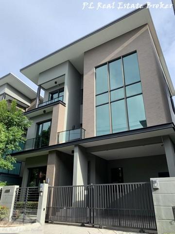 ขายบ้านลาดพร้าว71 โชคชัย4 : ขายบ้านเดี่ยว 3 ชั้น 52 ตร.วา หมู่บ้าน Soul ลาดพร้าว-เสนา บ้านเดี่ยว Luxury Modern