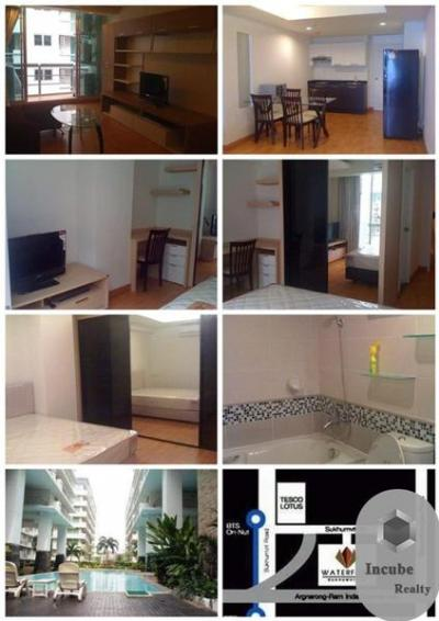 For SaleCondoKhlongtoei, Kluaynamthai : P16CR1910062 The Waterford Sukhumvit 50 2 bed 2 bath 80 sqm 4.33 MB