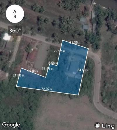 For SaleLandSamut Songkhram : Land 1-2-83 square wah for sale. Suitable for housing, resort or homestay.