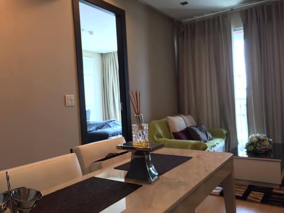 เช่าคอนโดราชเทวี พญาไท : เช่าด่วน ห้องแต่งสวย The Address Phayathai,ห้อง 1 ห้องนอน 39 ตร.ม. ชั้นสูง วิวโล่ง วิวสวย