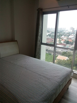 For SaleCondoChengwatana, Muangthong : Quick sale, very cheap condo, THE KEY Chaengwattana, 36 sq. M. 1 bedroom, 14th floor, opposite Muang Thong Thani, near expressway