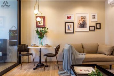 ขายคอนโดพระราม 9 เพชรบุรีตัดใหม่ : +++ขายด่วน+++ ห้องสวยมาก The Base garden rama 9** 1 ห้องนอน ขนาด 31.02 ตร.ม. แต่งครบ พร้อมเข้าอยู่