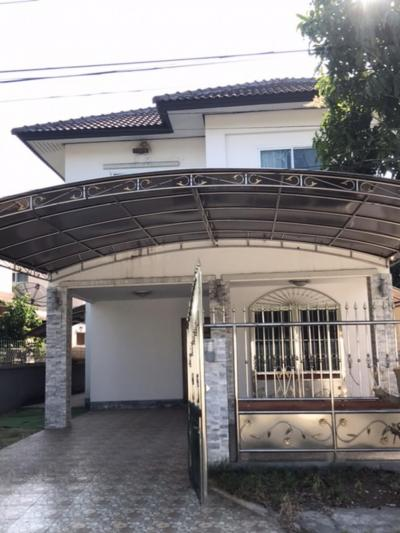 For RentHouseChachoengsao : 2-storey detached house for rent in KC Suwinthawong Village 2