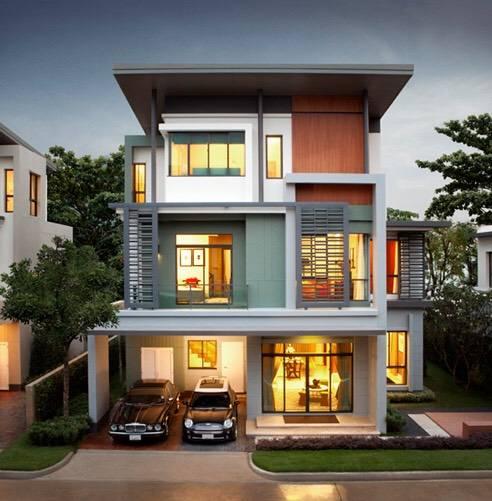 ขายบ้านเลียบทางด่วนรามอินทรา : 0087 บ้านเดี่ยวสุดหรู นาราสิริ ไฮด์อเวย์ โยธินพัฒนา3 ราคาดีที่สุด