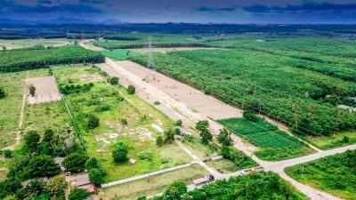 ขายที่ดินระยอง : 0089 ที่ดินล้อมรั้วเตรียมสร้างโรงงาน 23ไร่ ซอย 8 พนานิคม นิคมพัฒนา ระยอง 35.9ล