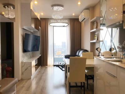 เช่าคอนโดอ่อนนุช อุดมสุข : FOR RENT : Ideo Mobi Sukhumvit 66 **54 sqm ** 2 bedroom with LUXURY ROOM TYPE !! PROMOTION