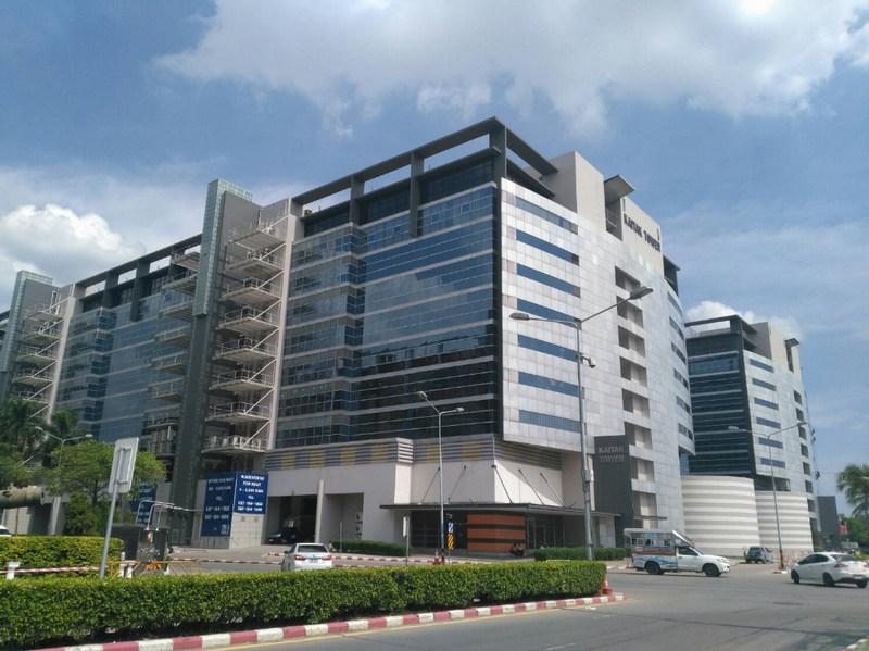 For RentOfficeChengwatana, Muangthong : Office building rental Within Muang Thong Thani (Starting area 25-200 sq.m.) near Chaeng Watthana Expressway, starting at 250 baht per square meter