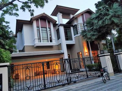 For RentHouseSukhumvit, Asoke, Thonglor : Luxuriously furnished single house for rent with private pool for rent